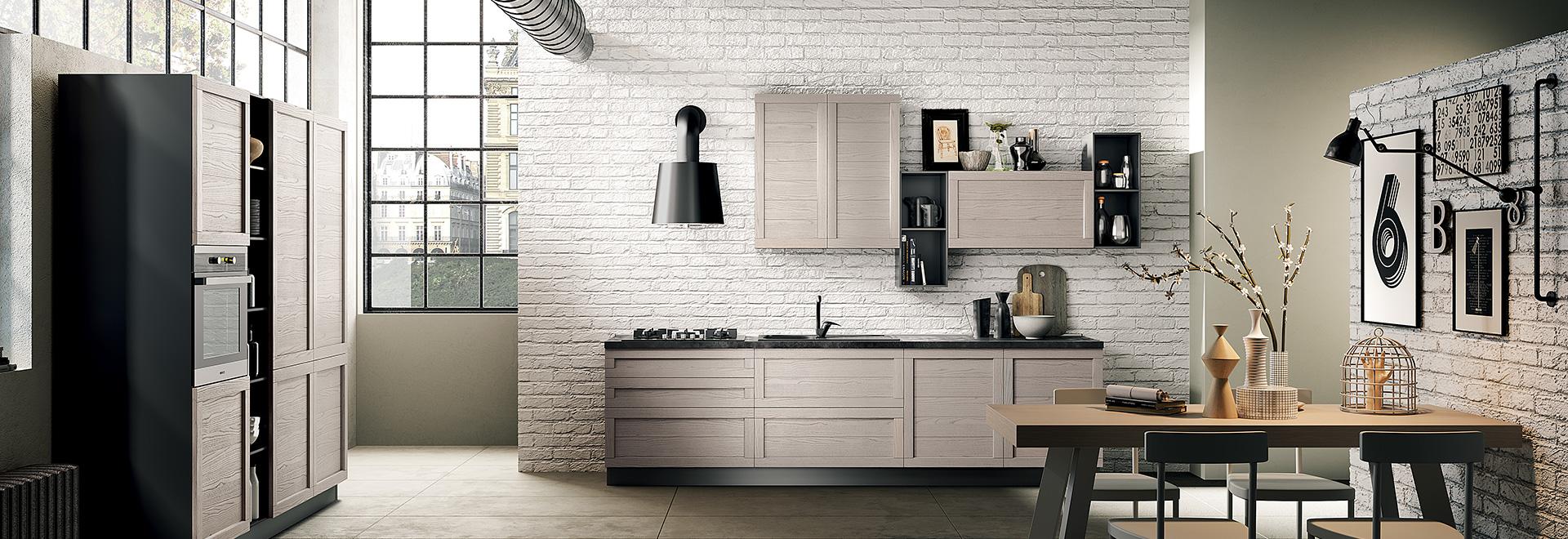 HS Cucine living Genova, Cucine moderne Genova, Cucine su ...